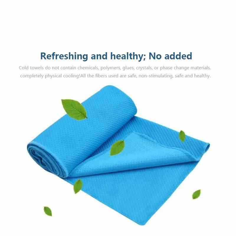 Serviette chaude hg-cooling, serviette fraîche pour le soulagement instantané de refroidissement, enveloppement de cou de refroidissement, écharpe froide de glace pour les hommes femmes, Bandan de microfibre