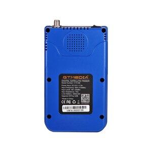 Image 3 - GT מדיה V8 מאתר אות לווין Finder HD DVB S2 MPEG 2/MPEG 4 FTA דיגיטלי לווין מטר תצוגת DVB S2X Satfinder סוללה