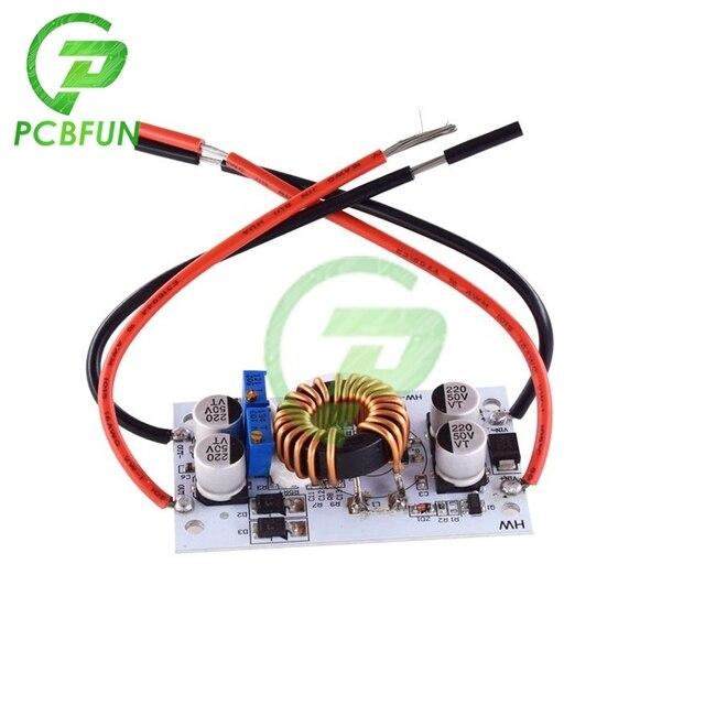DC 500W 250W 10A Boost Module à courant Constant Non isolé carte de convertisseur 150KHz LED alimentation du conducteur pour Arduino