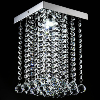 nordic hanging lamp luminaire suspendu crystal bedroom  luminaire suspendu