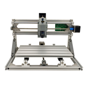 Image 2 - Mini Laser CNC Machine de gravure CNC 3018 Laser graveur outils de découpe GRBL 10W Laser Cutter bois routeur CNC 3018 2in1 graveur
