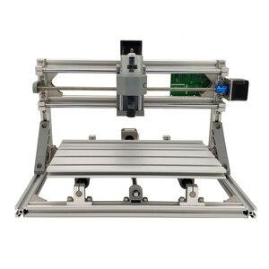 Image 2 - Minimáquina de gravação a laser CNC 3018 de 10W, ferramentas de corte GRBL, para madeira, CNC3018, Gravador 2 em 1