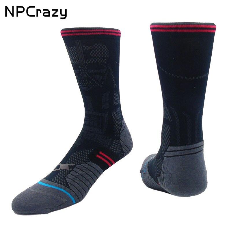 Socks Compression Sock For Men DARTH VADER Star Wars Socks Men Nylon Basketball Sock Outdoor Sport Crew Running Sox