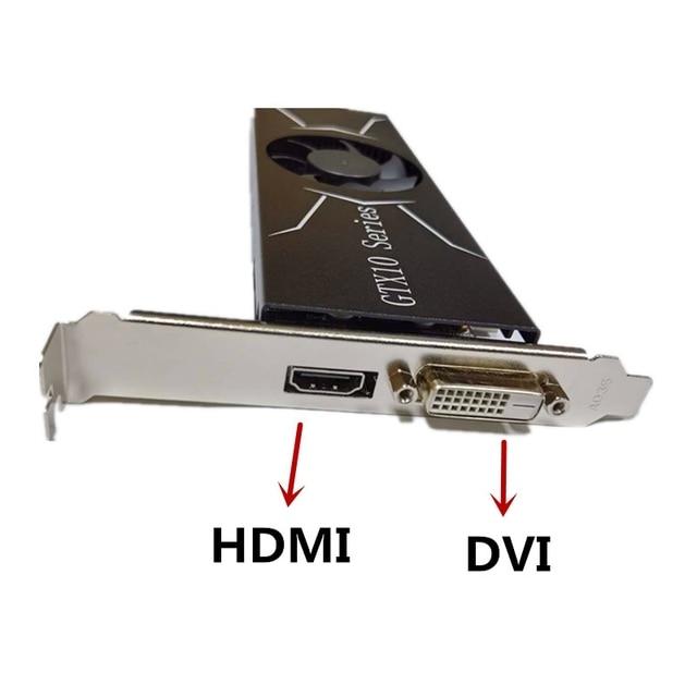 Cartão da imagem de gtx, 4gb 128bit ddr5 de alto desempenho, cartão de imagem do jogo da baixa potência apropriado para o desktop 5