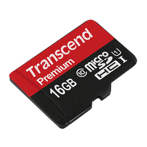Image 4 - Karta pamięci Transcend Premium 16GB karta MicroSDHC Class10 U1 odczyt do 90 MB/S UHS 1 karta TF 16GB na samrtphone i komputer stołowy
