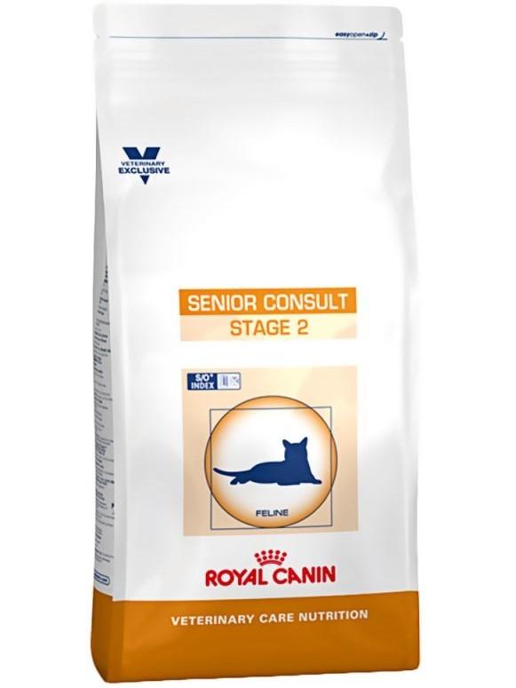 Royal Canin Senior consulter stade 2 nourriture pour chat de 7 ans avec des signes visibles de vieillissement, 6 kg