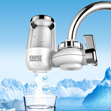 Portable Upgrade New Mini Tap Water Filter Washable Ceramic Percolator Easy Install Faucet Water Purifier Rust Bacteria Removal