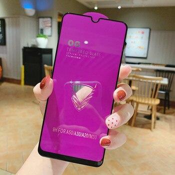 Большой закаленное стекло для Samsung Galaxy A5 2017 A20 A30 A50 A60 A70 A80 A90 A8 2018 M10 M30 M40 Экран протектор Стекло пленка