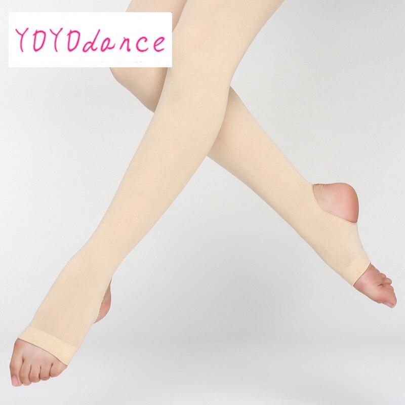New Women Stirrup Tights Dance Ladies Leggings Adult Panty Hose Professional Ballet Dancing Ballerina Stocking Tights
