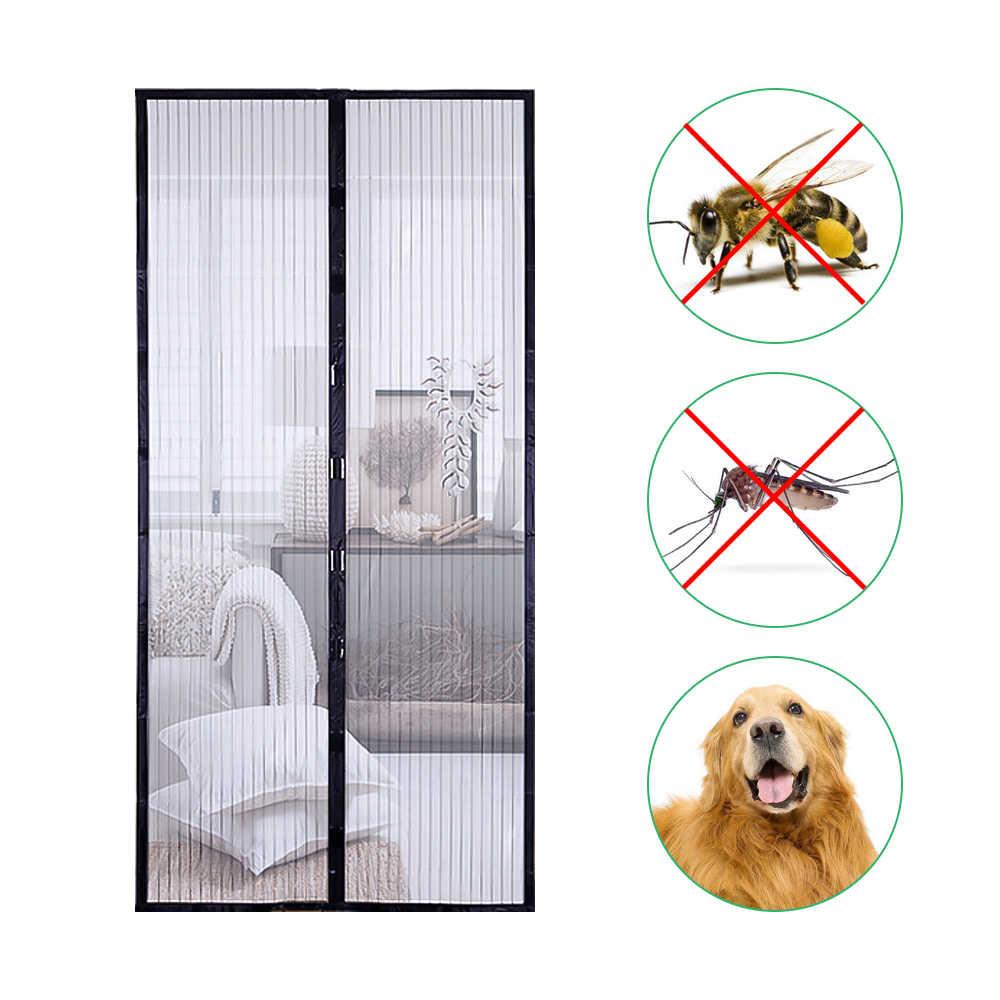 summer magnetic screen door mesh