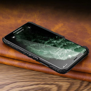 Image 5 - Skórzany pokrowiec na iPhone 11 Pro Max pokrowiec na telefon luksusowy pokrowiec na telefon Croc na iPhone 12 Pro Max 12mini pokrowiec, CKHB OP