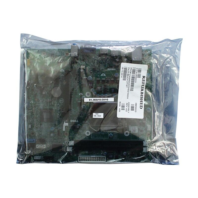Image 5 - Original For Dell OptiPlex OPX 390 390DT 390MT H61 Desktop motherboard MB Intel LGA 1155 DDR3 MIH61R 0M5DCD 10097 1 48.3EQ01.011-in Motherboards from Computer & Office