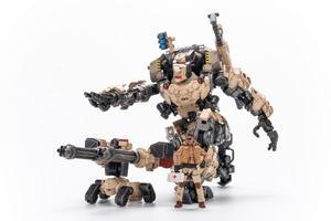 """Image 3 - JOYTOY JT0203 çelik kemik zırh çöl Ver. 9 """"Robot modeli ve sürücü 1/25 aksiyon figürü"""