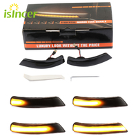 For Ford Focus 2 3 Mk2 Mk3 Mondeo Mk4 LED Dynamic Turn Signal Light Side Wing Mirror Indicator Sequential Blinker Lamp
