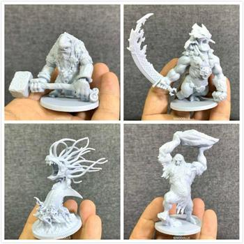 Lot 4inch Blood Rage Monsters Miniatures Board Game Figures Role Playing Model Toys Collection lot 3pcs miniatures role playing miniatures board game figures toys wargame collection new arrival