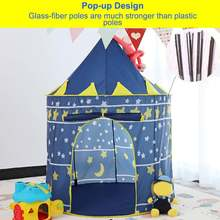 Складные портативные тюлевые детские игровые палатки принцессы