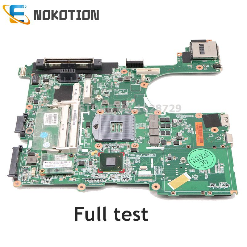 NOKOTION Laptop Motherboard For HP 6560B 646962-001 646964-001 654129-001 Mainboard QM67 DDR3 Full Test