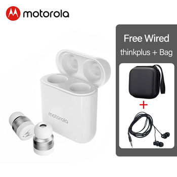 Motorola VB110 Wireless Bluetooth 5.0 Earphones Touch Control Mic Dynamic Earbuds voice assistant Stero Sound Quality for iphone 9