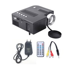 UC28A Mini Portable LED Projector 1080P Multimedia Home Cinema Theater USB TF HD