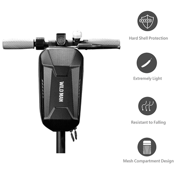 Electric Scooter Bag For Xiaomi Mijia M365 For Segway Ninebot ES1 ES2 Accessories Head Handle Bags Front Storage Case Waterproof scooter head handle bag life waterproof for xiaomi mijia m365 electric scooter ninebot es1 es2 tool charger battery bottle bag