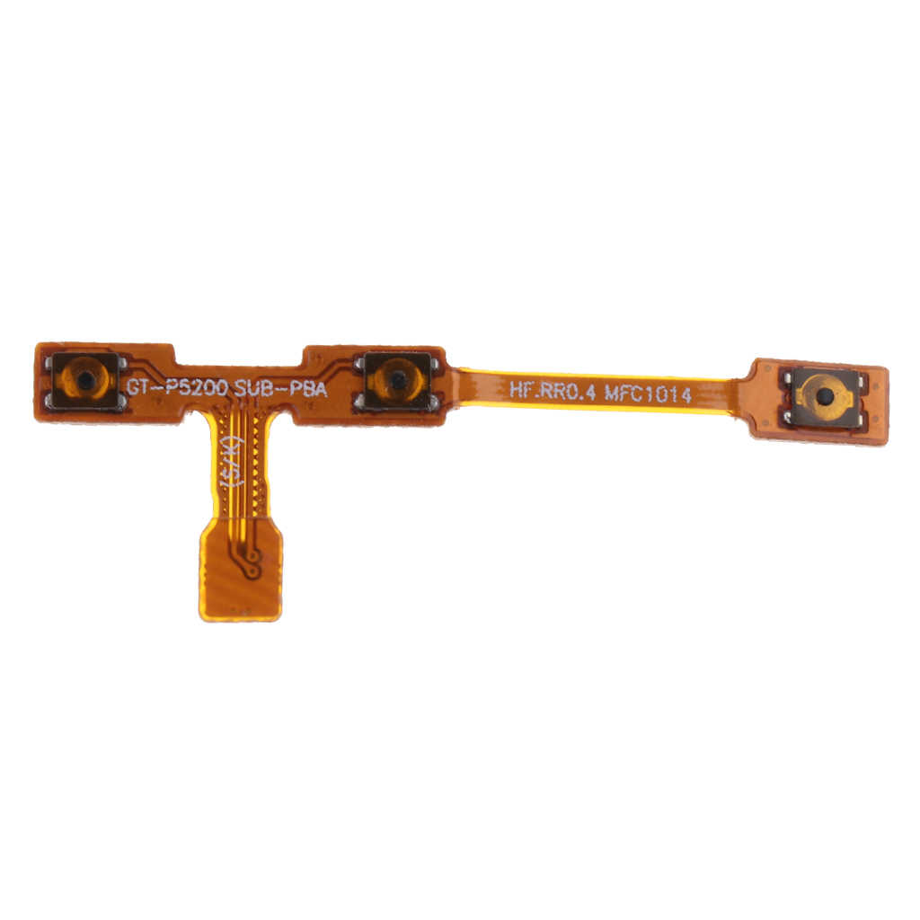 "Power Button On/Off and Volume Buttons Flex Cable Replacement Part for Samsung Tab 4 10.1"" T530 T531 T535"
