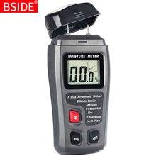 Портативный цифровой измеритель влажности по дереву 0~ 99.9% гигрометр BSIDE EMT01/MT10 с большим ЖК-дисплеем