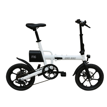 portable folding electric bike mini e-bike 250w foldable ebike with detachable lithium battery - discount item  60% OFF Cycling