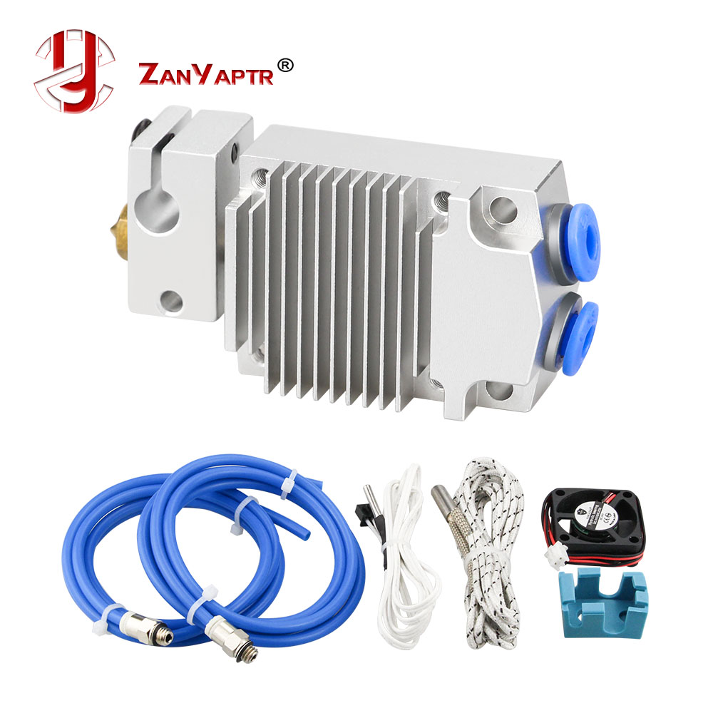 12v 24v Cyclops and Chimera Extruder 2 In 1 Out 2 colors Hotend Bowden with Titan Bulldog Extruder for 3D Printer I3