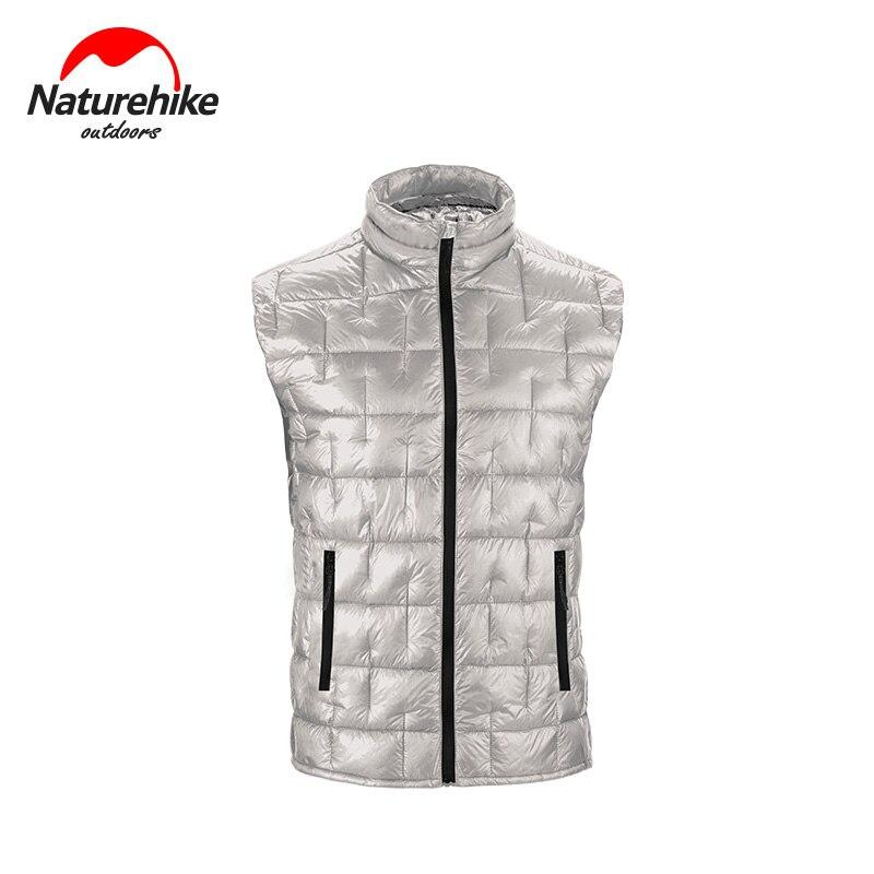 Naturehike 2019 Winter Ultra-light Down Vest Men Women Light Horse Armor 95% Goose Down 1000FT Vest Liner