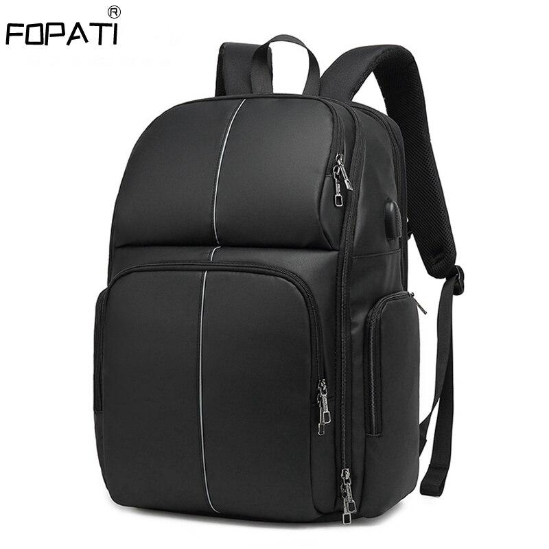 CoolBell Backpack Men Large Capacity Anti-thief Travel Bag USB Charging School Bag 17.3 Inch Laptop Backpacks Waterproof