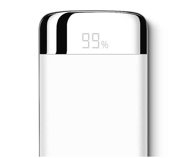 30000 MAh Power Bank External Battery Poverbank 2 USB LED Powerbank Mobile Phone Charger untuk Xiaomi