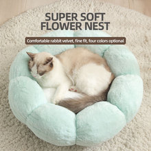 Mats Cat-Beds Cushion Sofa Kennel Pet-Supplies Dog House Dogs Plush Round Small Large