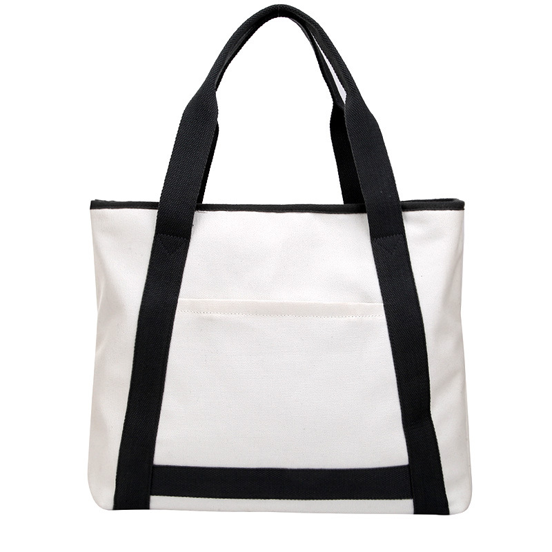 2019 New Fashion High Quality Canvas Bag Big Capacity Shoulder Bags Casual Tote Hand Bags Luxury Handbags Women Bags Briefcases