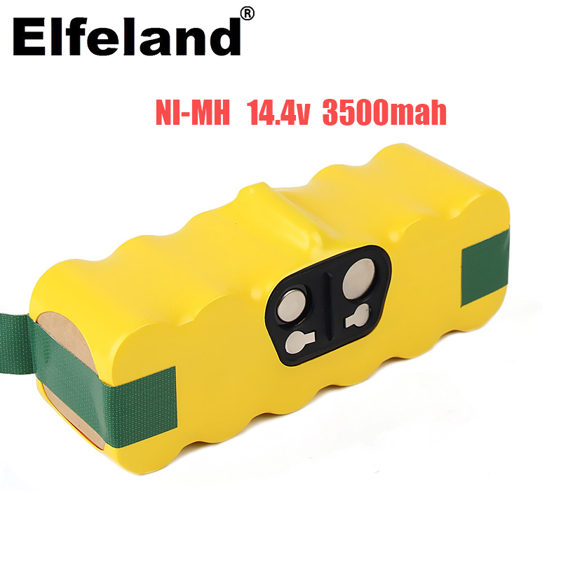 Elfeland Top Ni-Mh Akku für iRobot 14,4 V 3500mAh Akku