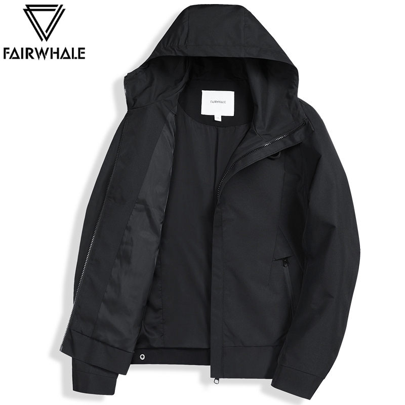 Fairwhale 2020 spring/autumn casual clothing sports trench coat water proof high-tech material jacket