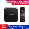 Best x96 mini iptv box android 9.0 tv box x96 Amlogic S905W 1G 8G 2G 16G smart ip tv set top box ship from france