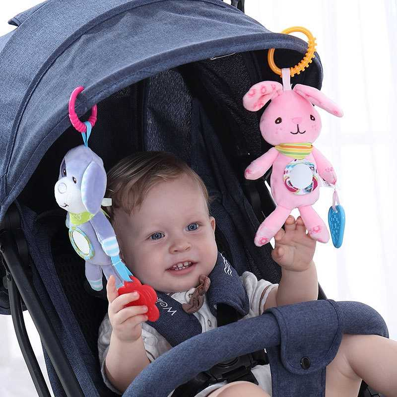 Toys for Newborns Baby Rattles Toys for Children Baby Toys 0-12 Months Animal Wind Chimes Stroller Bedside Pendant Baby Toy gift