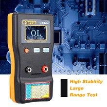 Capacitor-Circuit-Tester Ohm-Meter Measuring-Capacitance ESR MESR-100 KKMOON Resistance