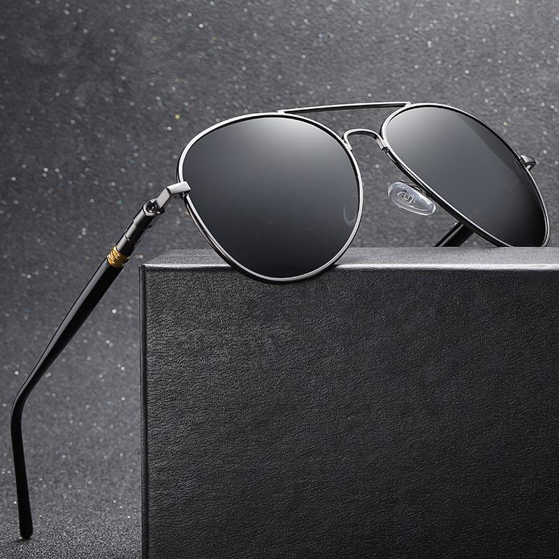 Поляризованные солнцезащитные очки, поляризованные солнцезащитные очки для мужчин, классические, летные, для рыбалки, для вождения, 2020