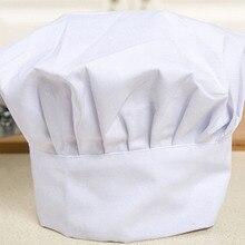 цены Comfortable New Cook Adjustable Men Kitchen Baker Chef Elastic Cap Hat Catering
