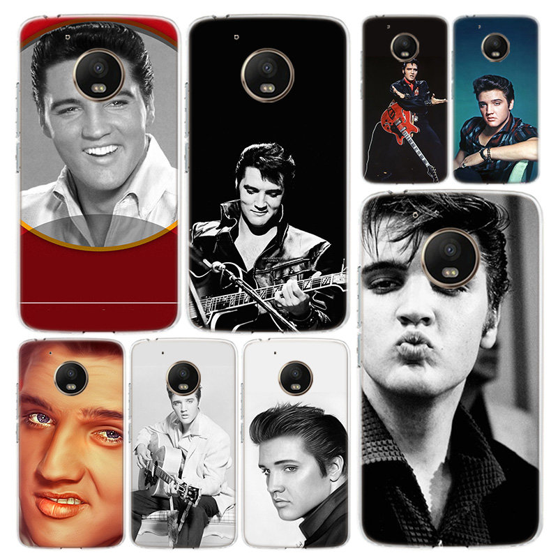 Elvis Presley Kiss Phone Case Cover For Motorola Moto G8 G7 G6 G5S G5 G4 E6 E5 E4 X4 Play Plus Power + One Action Coque