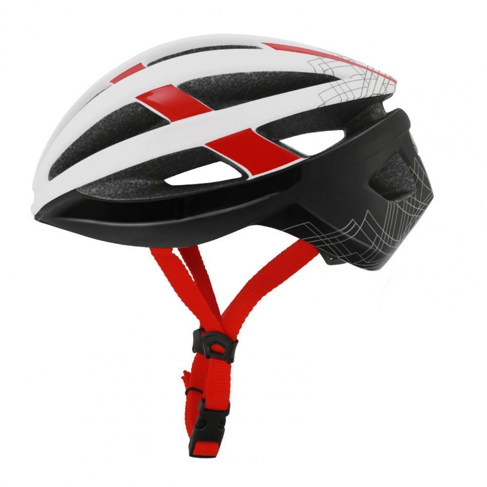 Road Mountain Bicycle In-Mold USB Charge Racing Helmet with Warning Tail Light  Racing Helmet