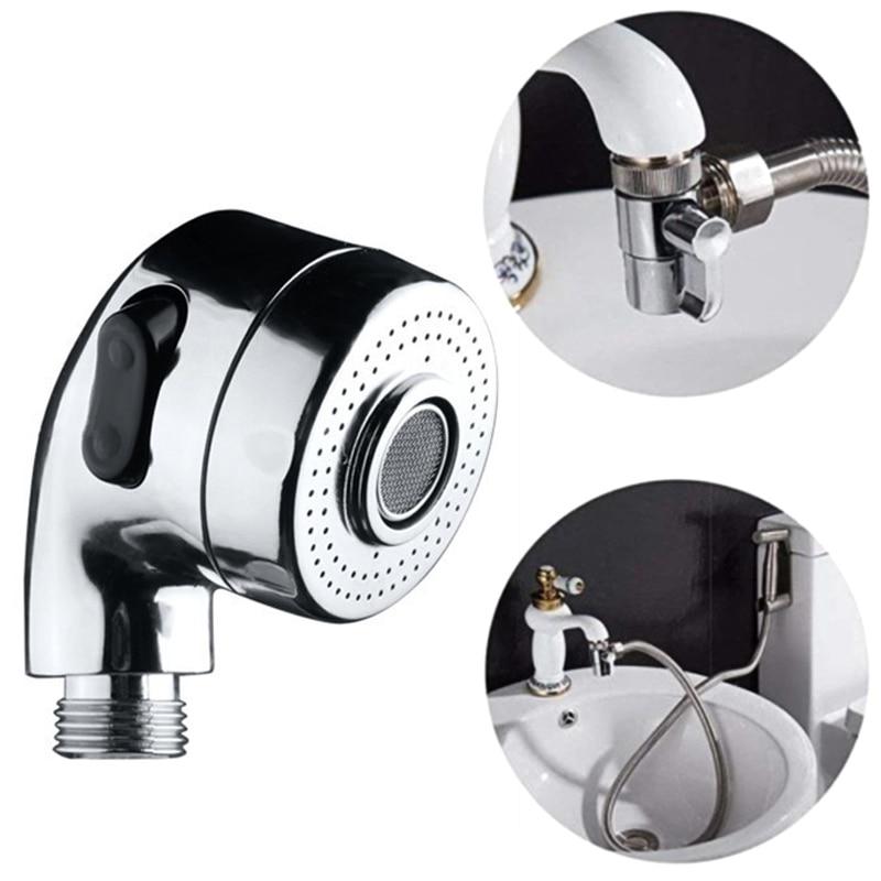 Bathroom Sink Faucet Sprayer Shower Head Sink Hose Sprayer Attachment Hand Shower Spray Faucet Bathroom Supplies New