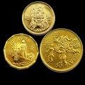 Макао 10 20 50 авос монеты китайская коллекция настоящих монет Новинка