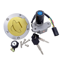 4 Wires Motorcycle Gas Tank Cap Cover Lgnition Switch Seat Lock Sets for Ducati ST2 ST4 Monster 900 620 750 996 916 998 748