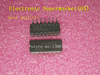 Free Shipping 5pcs/lots AD595AQ AD595 DIP-14  IC In stock! free shipping 5pcs lots d808k013dptp4 d808k013 tqfp 144 ic in stock
