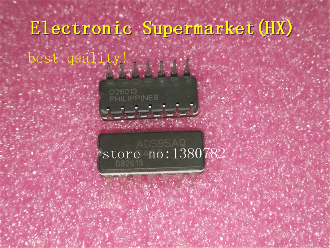 Free Shipping 5pcs/lots AD595AQ AD595 DIP 14  IC In stock!-in Integrated Circuits from Electronic Components & Supplies    1