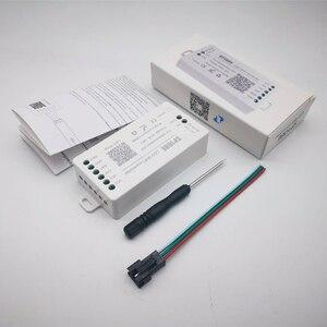 Image 2 - SP108E WS2812B WS2811 WS2801 LED WiFi Controller, iOS Android App Wireless Remote Control DC5V~24V SP108E for SK6812 SK6812 RGBW
