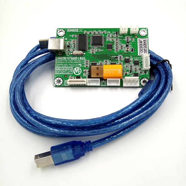 CO2 лазерный штамп машина LIHUIYU M2 материнская плата + USB ключ + USB кабель система управления