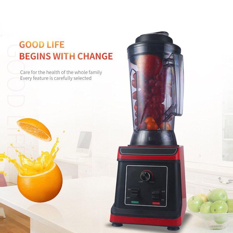 Bpa livre pesado grau comercial misturador liquidificador juicer processador de alimentos alta potência smoothie gelo barra liquidificador frutas